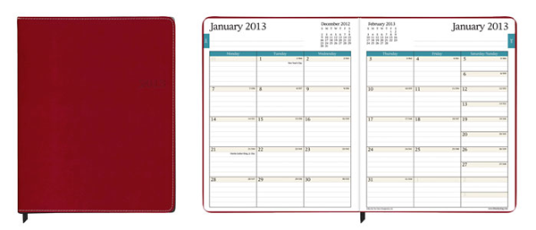 calendars: digital or old school book?