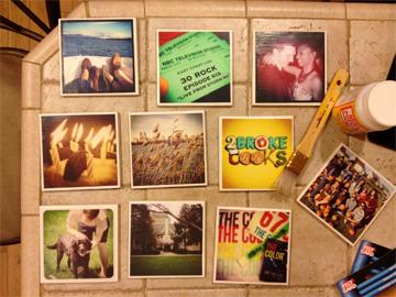 DIY Instagram Coasters