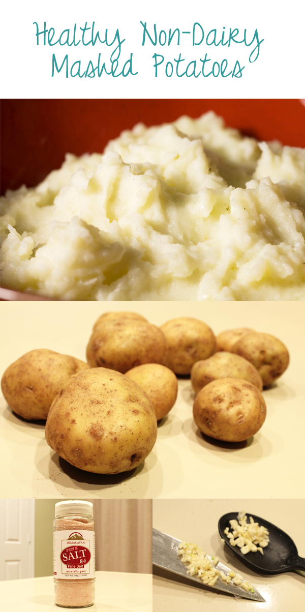 healthy non-dairy mashed potatoes