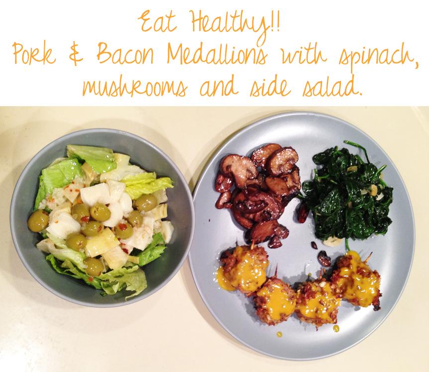 healthy eating dinner