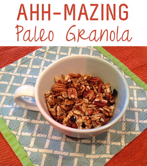 ahh-mazing paleo granola