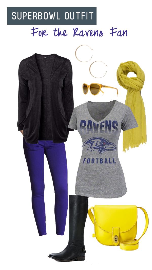 Ravens Superbowl Outfit