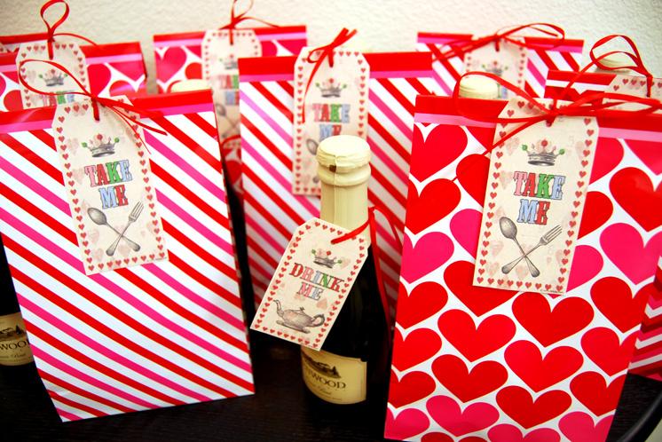 Alice In Wonderland Gift Bags