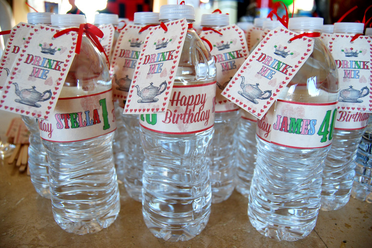 Birthday Water Bottles