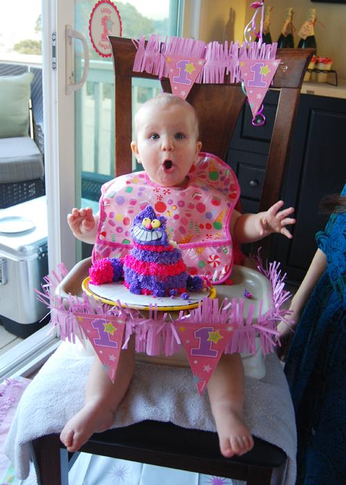 First Birthday Smash Cake Sunny Slide Up