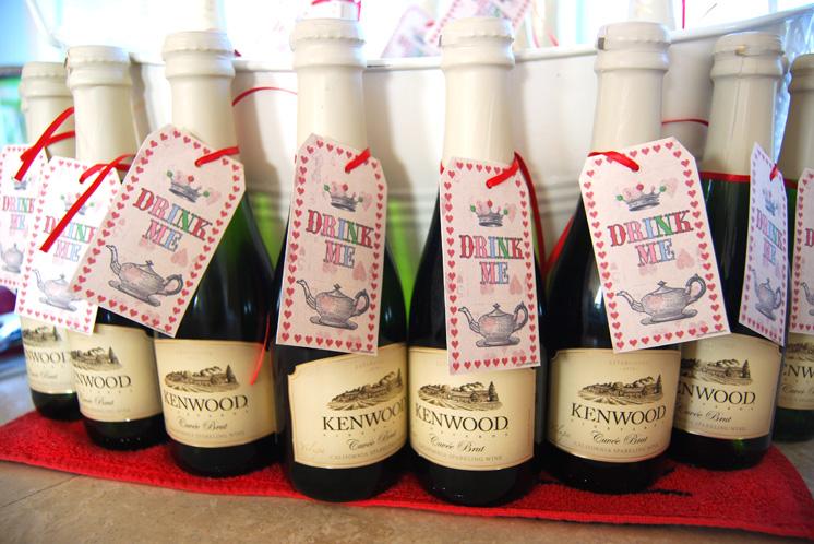 Mini Champagne Bottles