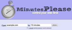minutes please