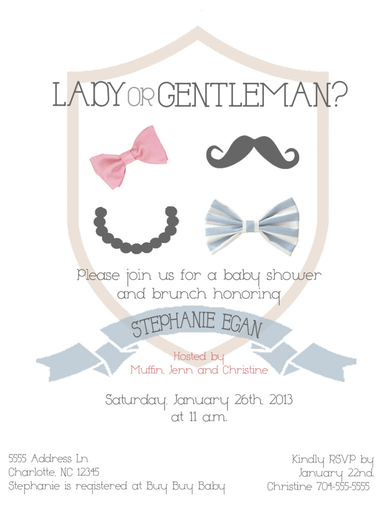 Lady or Gentleman?