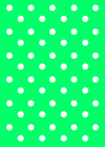 free polka dot card template