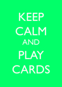 keep calm free card template