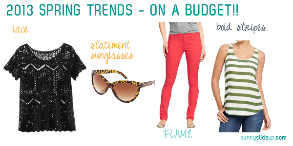 spring fashion trends 2013
