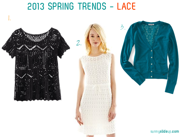 spring trends lace