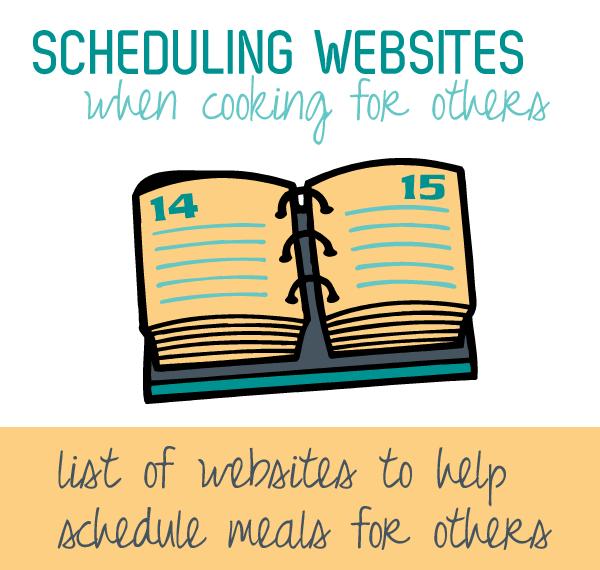 food scheduling websites