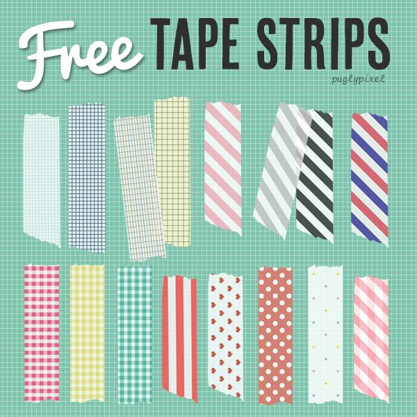 Free Waashi Tape Patterns