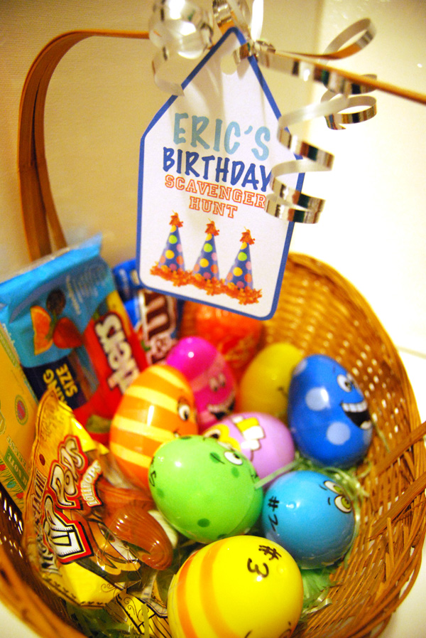 BirthdayScavengerHunt_EasterEggs