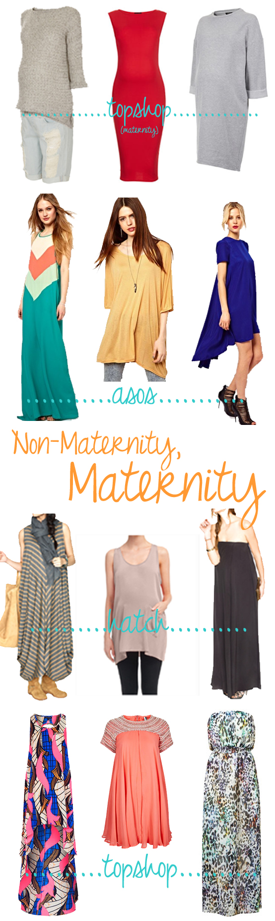 Non-maternity, maternity