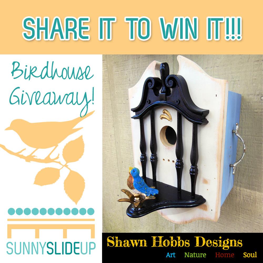 birdhouse giveaway!