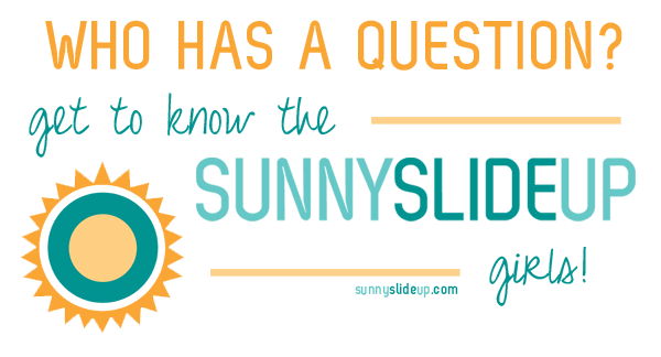 get to know the sunny slide up girls