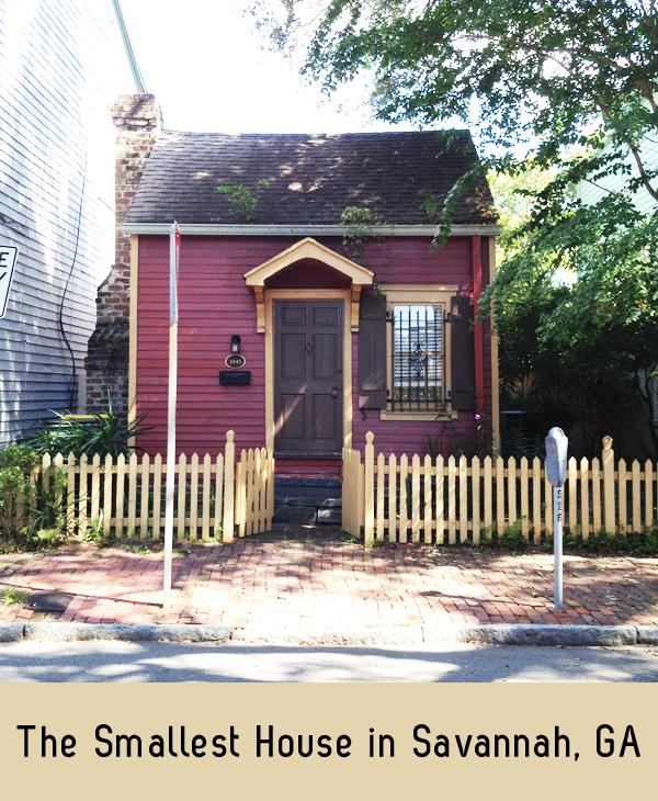 smallest house in savannah, ga
