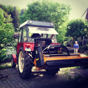 Germany Party Prep Tractor