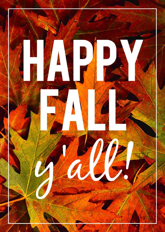 HappyFallYall