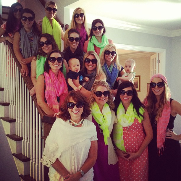 baby shower for the mama with style