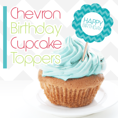 chevroncupcaketopper