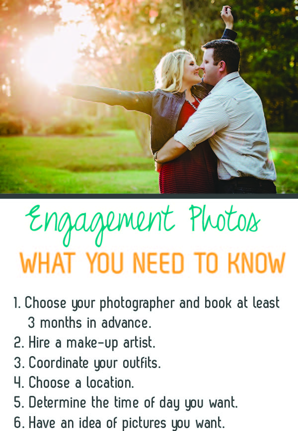 things to know for your engagement photos