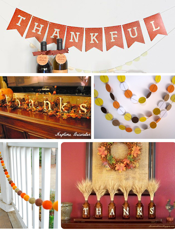 Thanksgiving Mantle Ideas