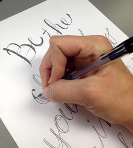 DIY easy calligraphy