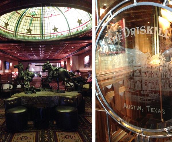 Driskill Hotel Bar Austin Texas