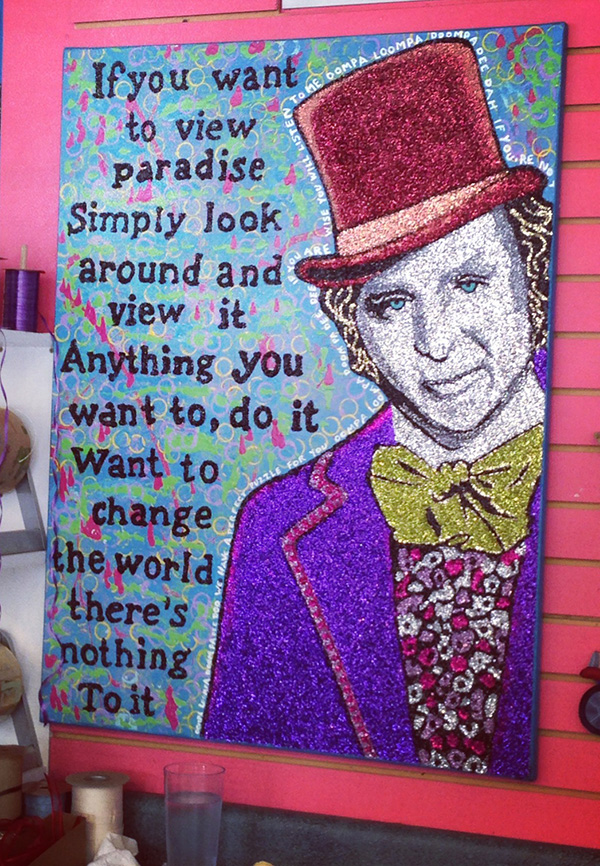 Willy Wonka Art Quote