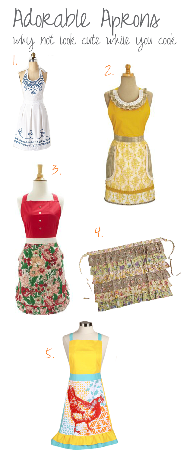 cute aprons for the kitchen