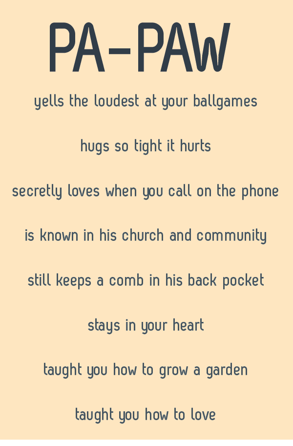 happy valentines day 2014 quotes for her - in the south we have papaws