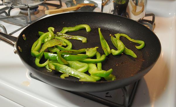 fajitas green pepper