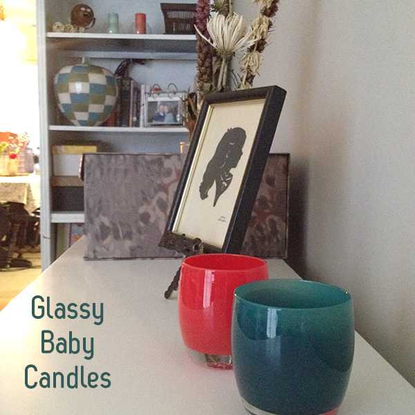 it's glassybaby – one of a kindness – candles
