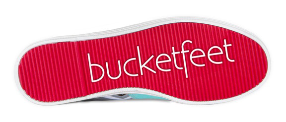 BucketFeet Shoe Logo