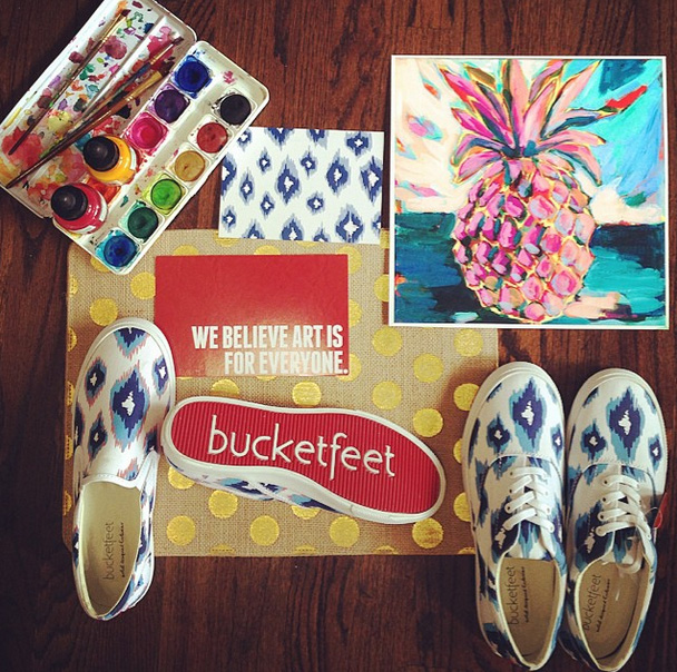 Laura Dro Designs For BucketFeet
