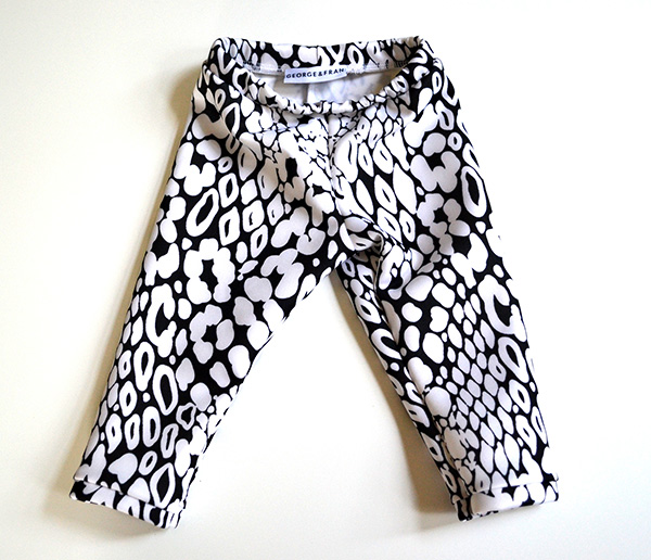 mod leopard children leggings