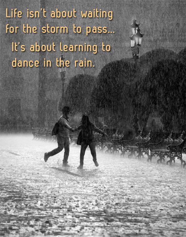Rain Drops Keep Falling On My Head Sunny Slide Up